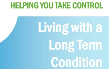 Living With a Long Term Condition Course - new dates for 2020