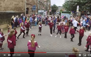Flash Mob Celebrate Learning…